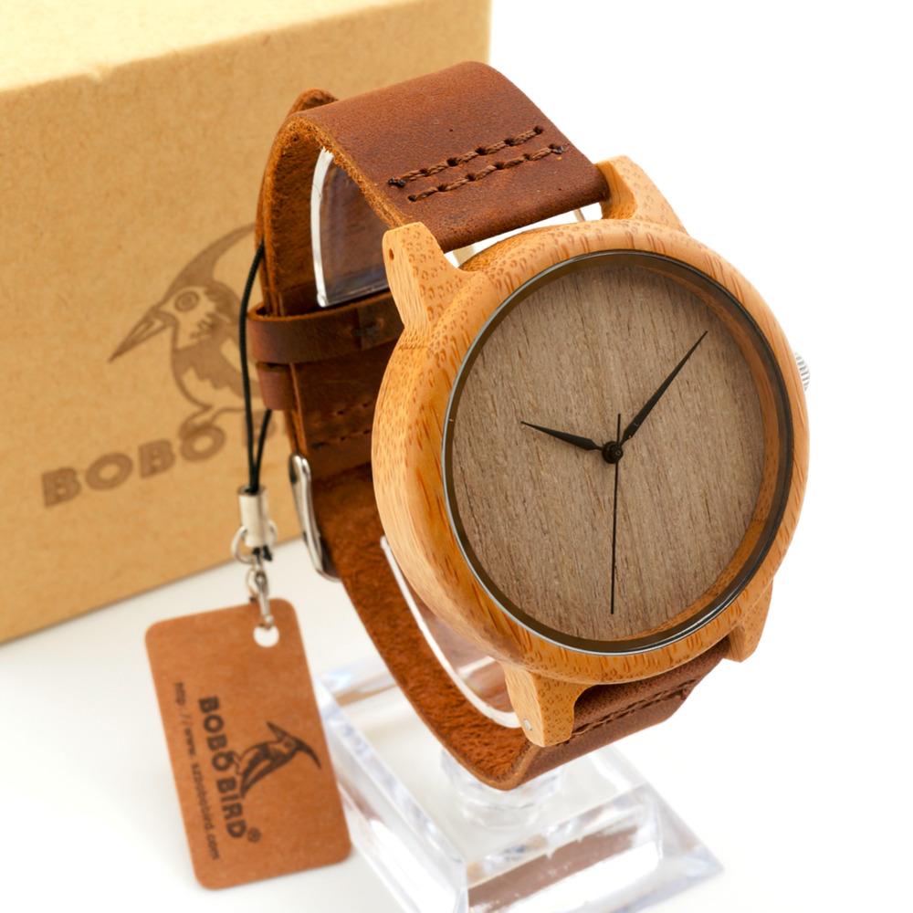 0d0eef593 Bobo Bird drevené hodinky
