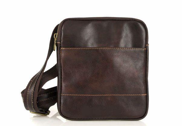 5d72a54fb9 Paolo pánska kožená taška cez rameno
