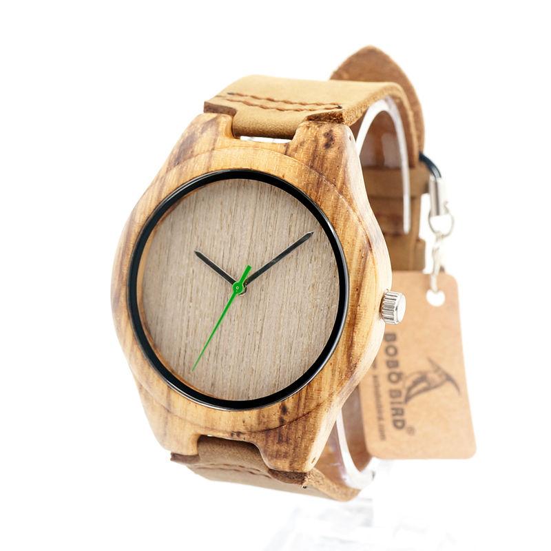 60330b9eb Bobo Bird Green Hand drevené hodinky   Točoide.sk
