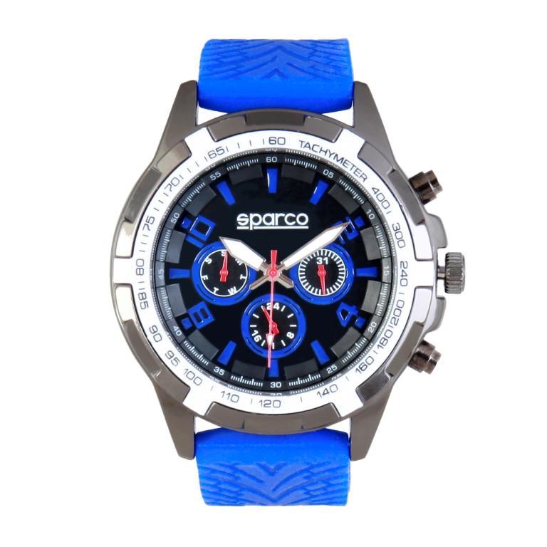 a3fa30cff Sparco hodinky Eddie modré empty