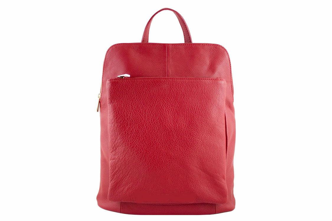 4eeb41fa79 Made in Italy dámsky kožený ruksak Patricia