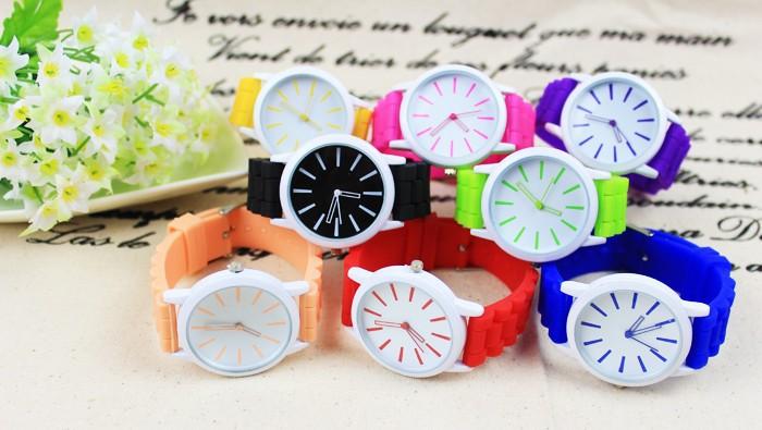 Jelly silikónové hodinky farebné  1ece917c99e